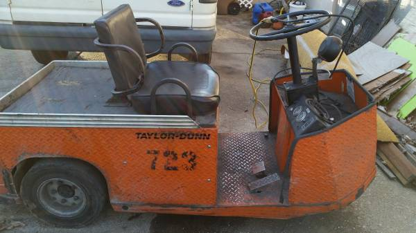 taylor dunn personnel carrier used